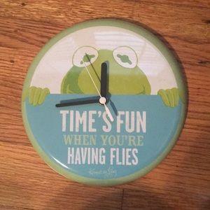 Kermit the frog clock